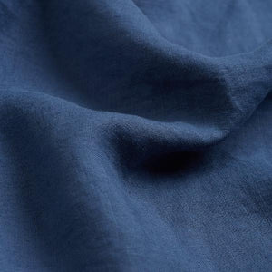 Blueberry Linen Duvet Cover - Piglet in Bed