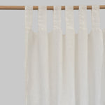Cream Linen Curtains (Pair) - PIGLET US