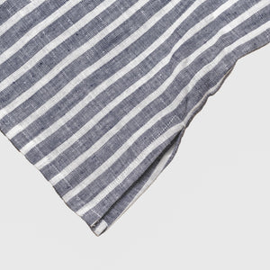 Midnight Stripe Night Dress - Piglet in Bed