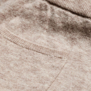 Piglet x WoolOvers Cashmere Merino Lounge Joggers Natural Marl - PIGLET US