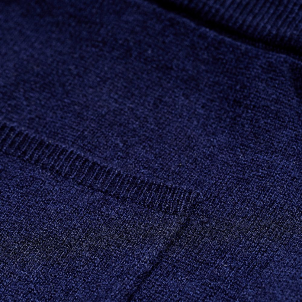 Piglet x WoolOvers Cashmere Merino Lounge Joggers Neo Navy - PIGLET US
