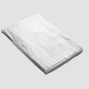 White Linen Tablecloth - PIGLET US