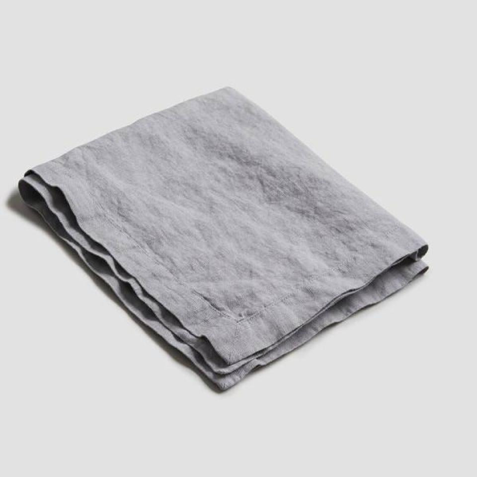 Dove Gray Linen Napkin