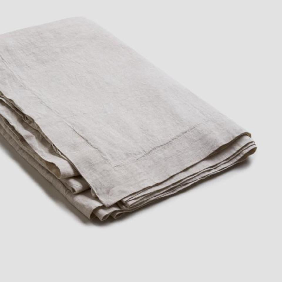 Oatmeal Linen Tablecloth - PIGLET US