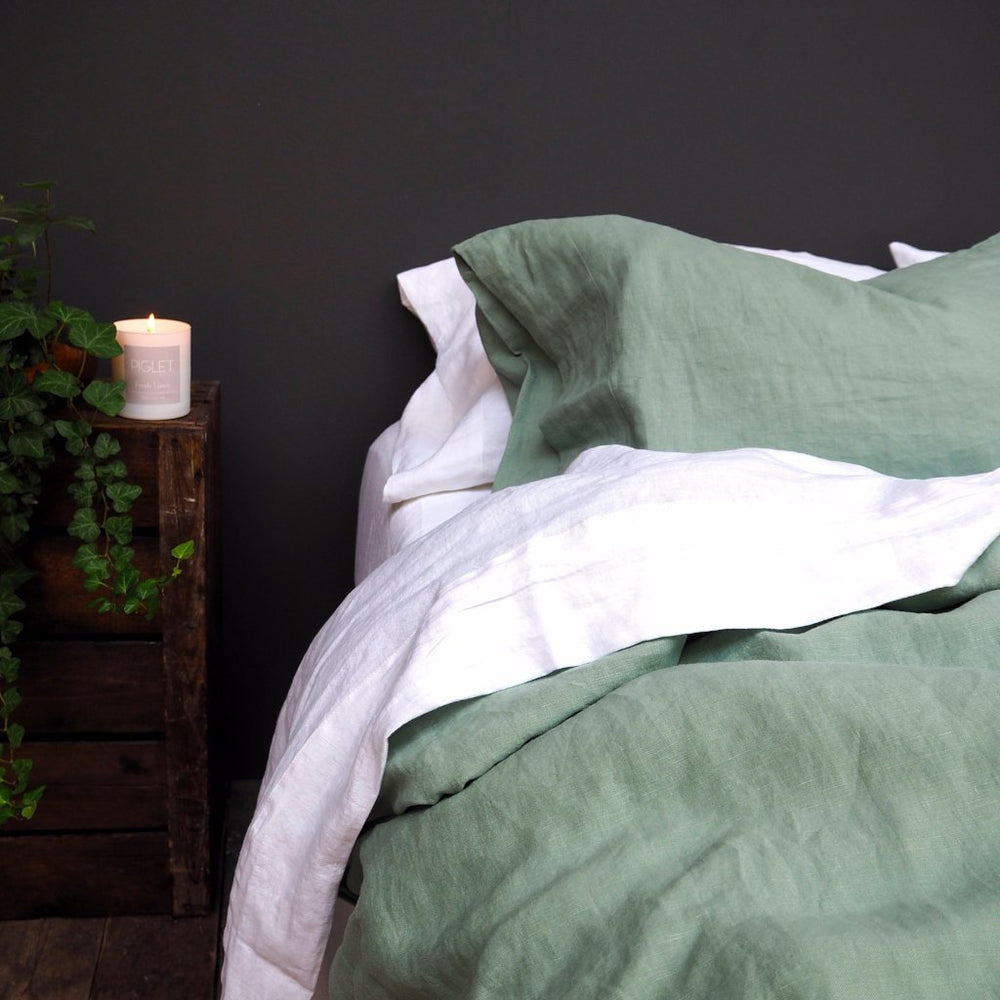 Sage Green Bedtime Bundle - Piglet in Bed