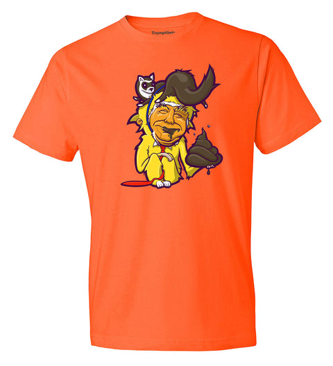 Tiny-Fingered, Cheeto-Faced, Ferret-Wearing Shitgibbon unisex t-shirt
