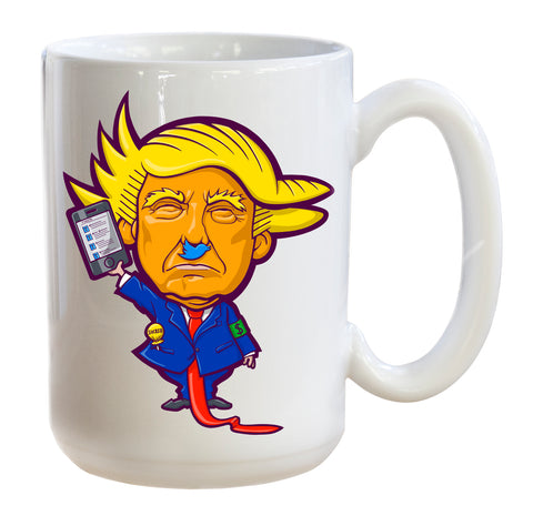 Trumpithets Twitler mug for coffee and tea