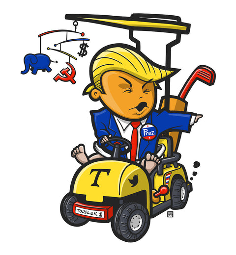 Trumpithets Toddler-in-Chief artwork