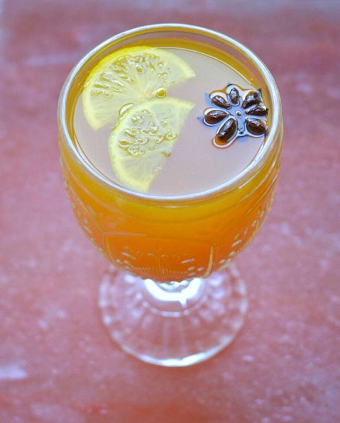 Enjoy this warm and spicy hot toddy, sure to keep spirits bright! Photo © Jess Donaldson / Rare Bird Sweets