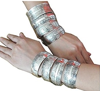 Vintage Silver Bangles - FREE SHIPPING