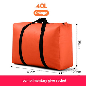 Travel bag canvas portable women go abroad baggage bag large capacity 40L-180L big move house storage bag sacks extra large