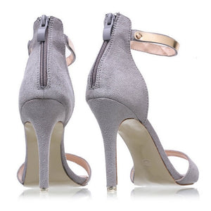 Women T Ankle Strap Open Toe Sandals