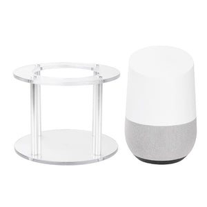 White Bluetooth Speaker Stand Holder for Google Home Speaker - Free Shipping
