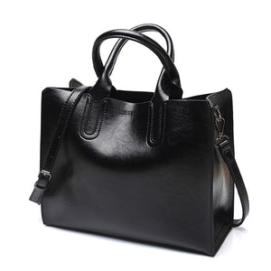 Leather Handbags Big Women Bag High Quality Casual - Free Shipping