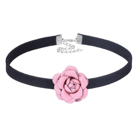 Enchanted Rose Choker Necklaces - Free Shipping