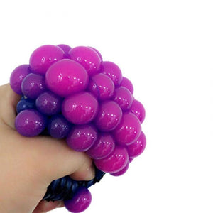 New Anti Stress Face Reliever Grape Ball Autism Mood - Free Shipping