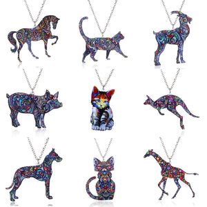 Animal Necklace - Just Pay Shipping