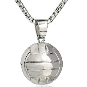 Ball Necklace Gold Stainless Steel Chain - Free Shipping
