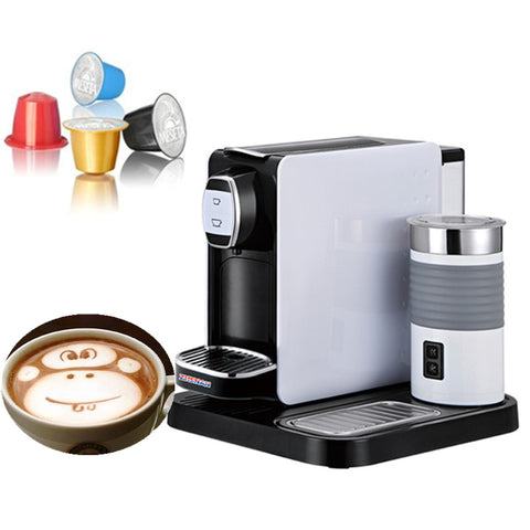 Small coffee capsule machine equipment