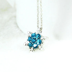 FREE Frozen Snow Shape Necklace - FREE Shipping