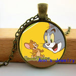 Tom And Jerry Necklace