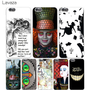 Alice in Wonderland Transparent Cover Case - Free Shipping