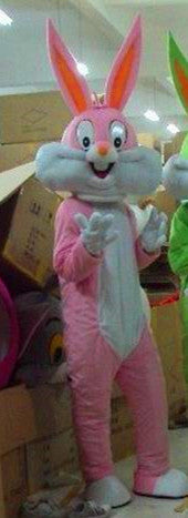 Adult size Cartoon bugs bunny Costume - Free Shipping