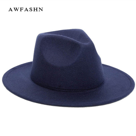 2018 Black Women Fedoras Cap Top Vintage Hat - Free Shipping