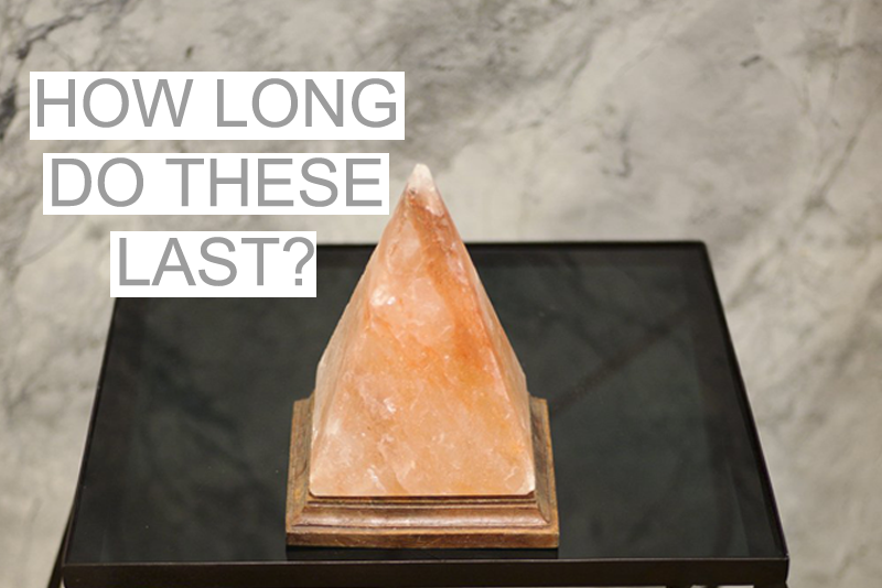 How Long do Himalayan Salt Lamps Last?