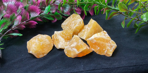Orange Calcite Healing Crystal