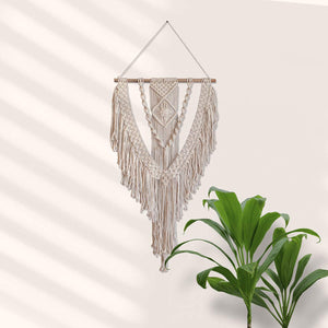 White Eagle Macrame Wall Hanging