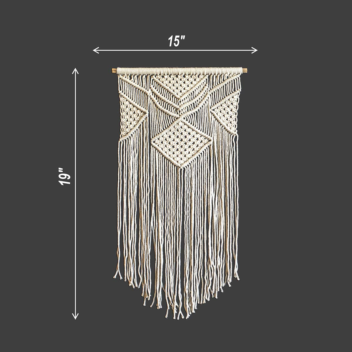 macrame wall hanging patterns