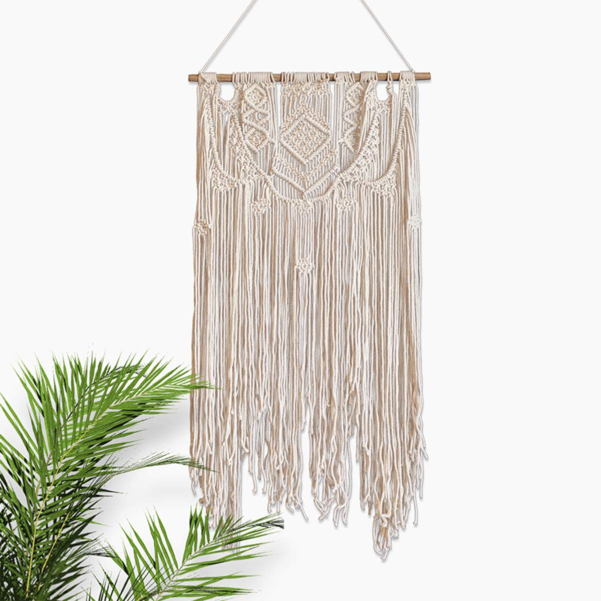 1960s large macrame wall hanging