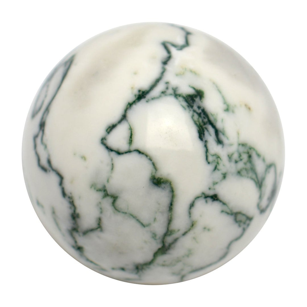 Tree Moss Agate Sphere
