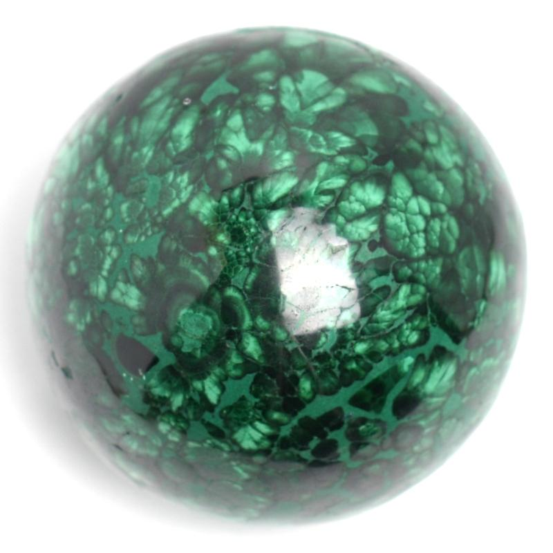Malachite Crystal Sphere
