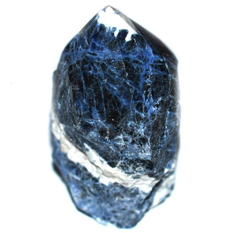 Sodalite Point Crystal