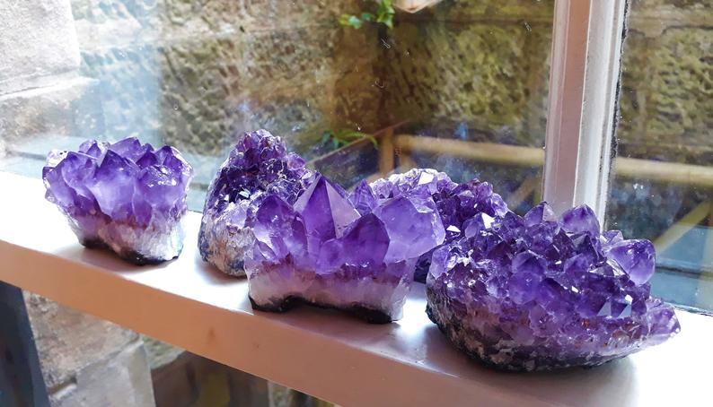 amethyst cluster wholesale
