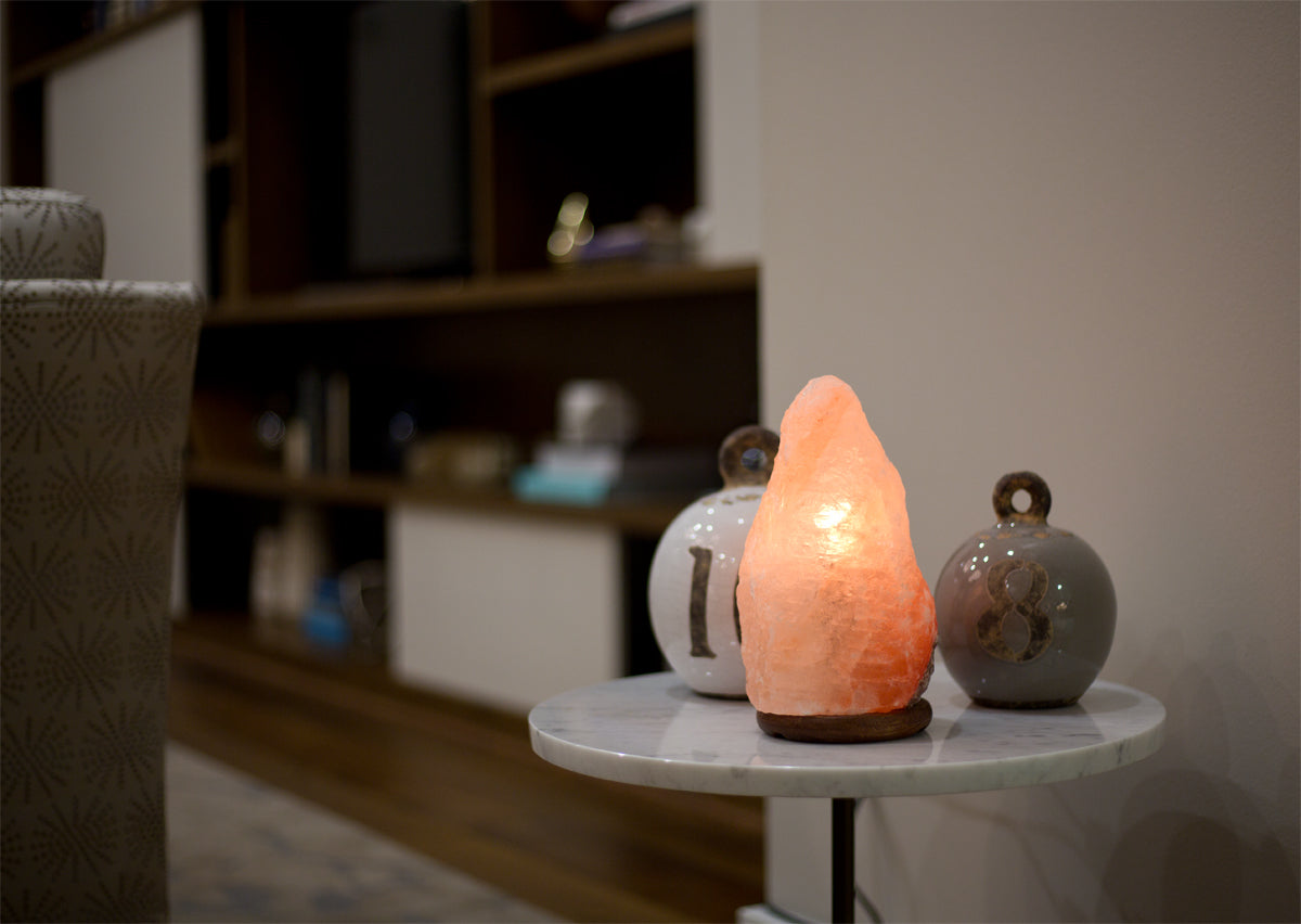 "Himalayan Salt Rock Lamp Natural - ""Natura"" 7-9lbs"