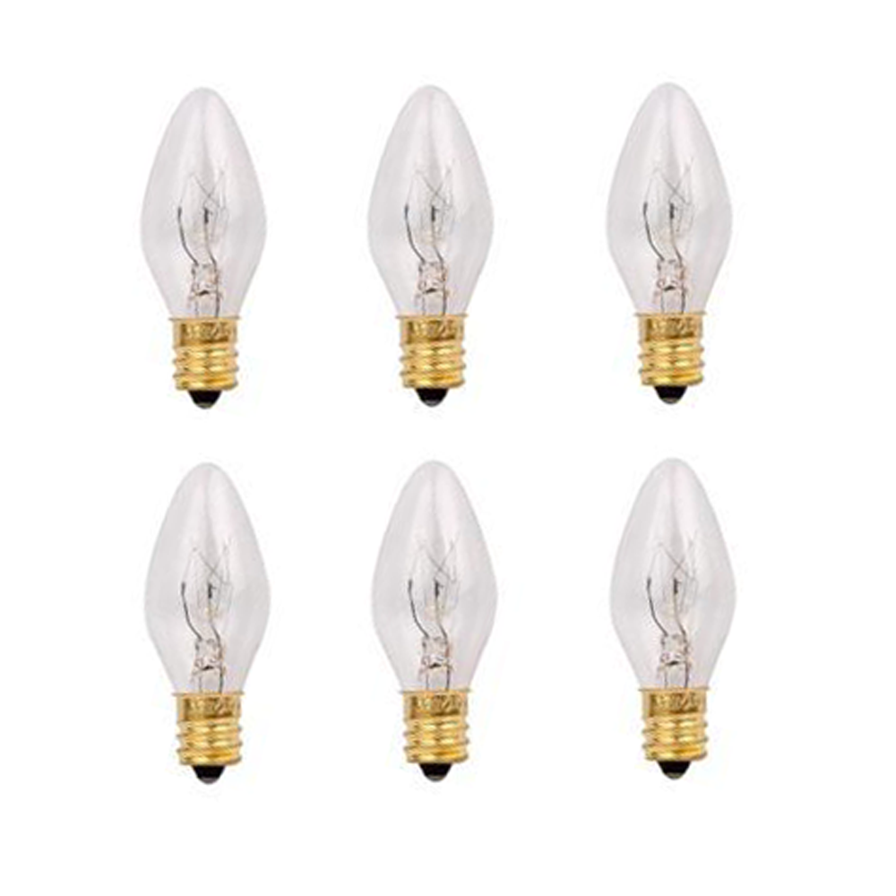 Himalayan Salt Lamp Bulbs E12 15 watts 6 pack