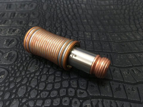 The Thinket Now (Heat-Patina Copper-2)