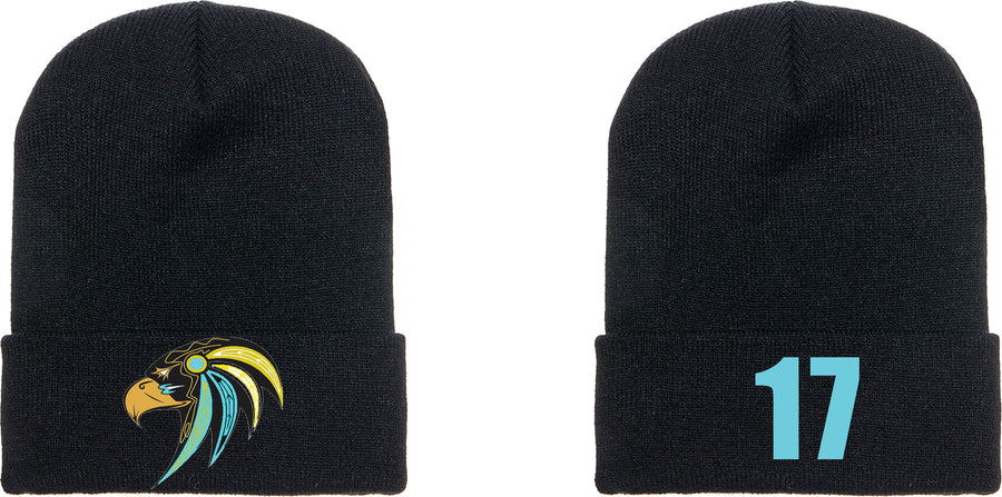 CT Falcons Beanie Hat