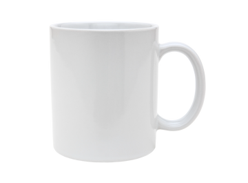 11oz white classic photo mug
