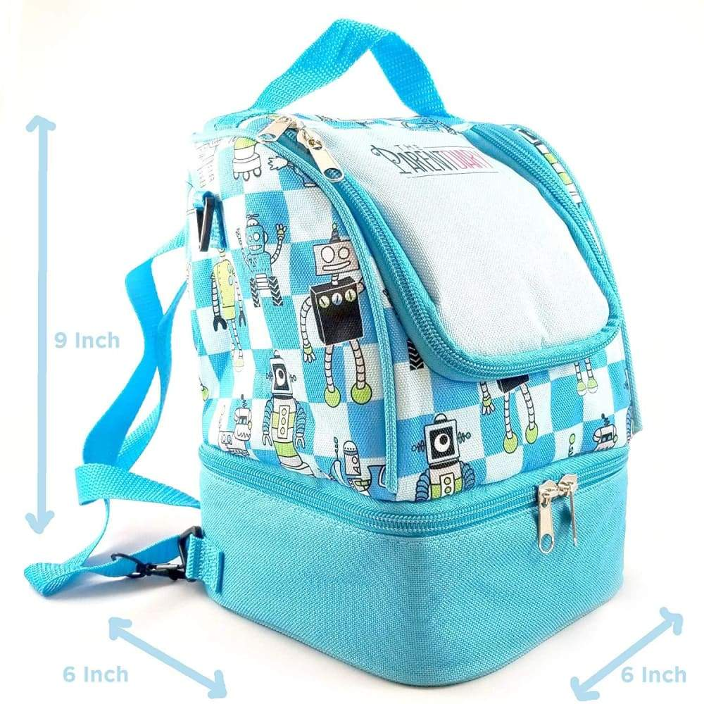 Insulated Kids all in one Lunch Bag - Mealtimes