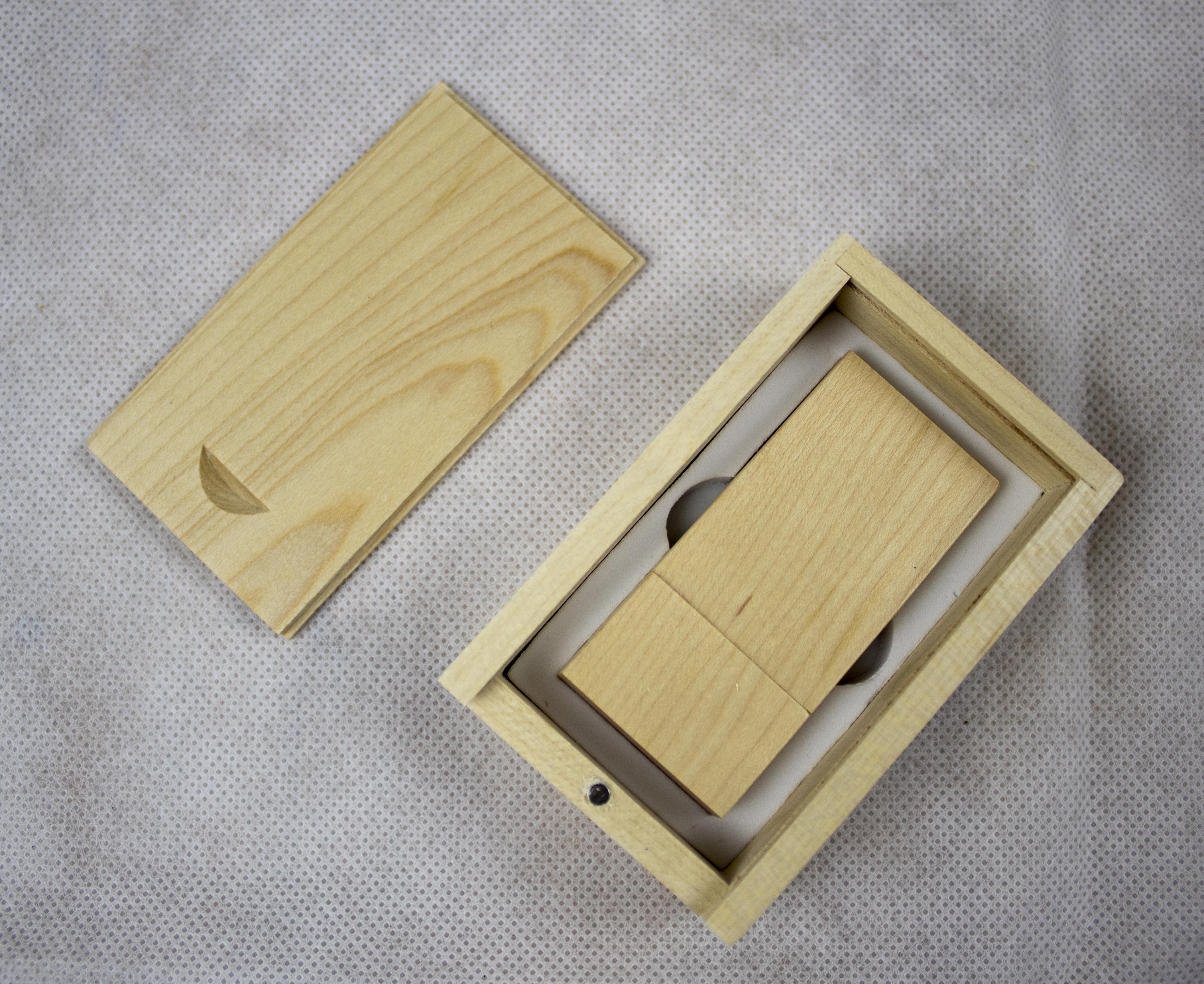 Wooden Usb and Wooden Box - Irish Wooden Gifts