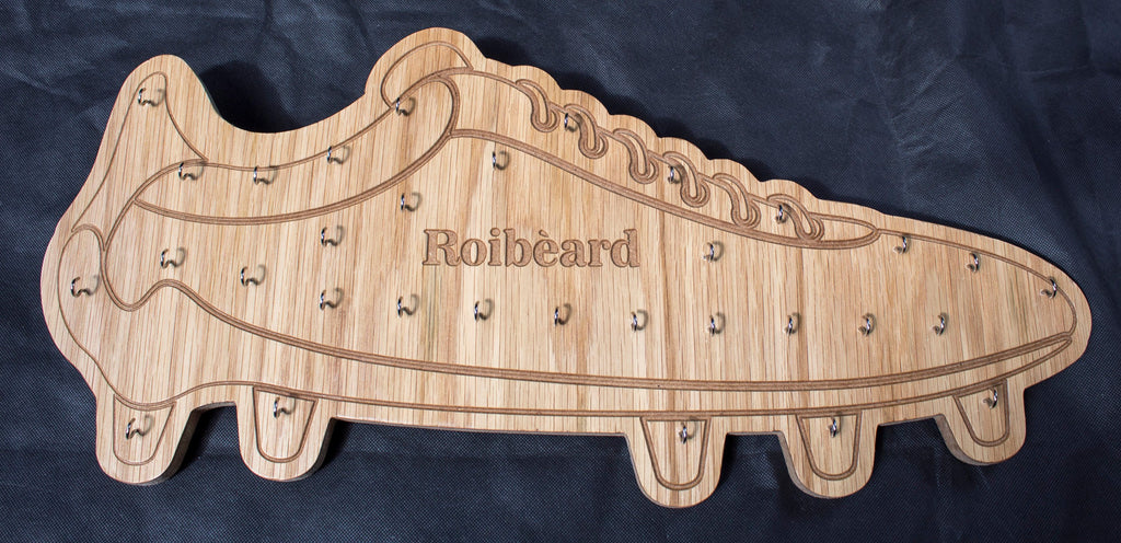 Football Boot Medal Holder, Soccer Boot Medal Holder, Football medal Holder Personalised - Irish Wooden Gifts