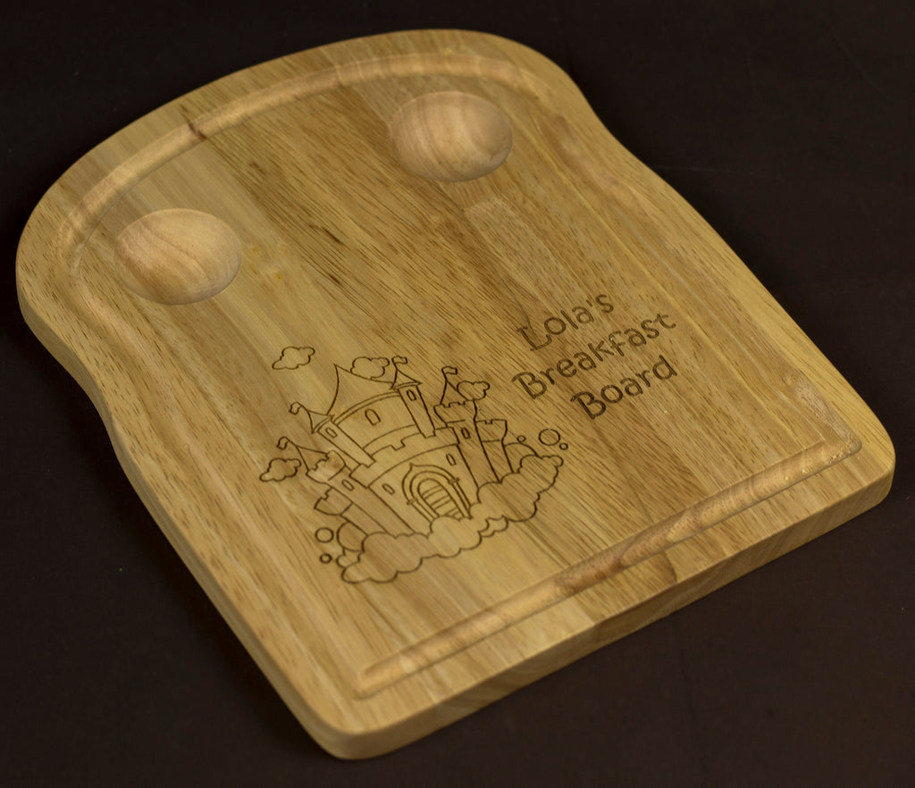 Breakfast Board, Egg Board, Breakfast Egg Board, Toast Board, Egg and Toast Board, Bread Board - Irish Wooden Gifts