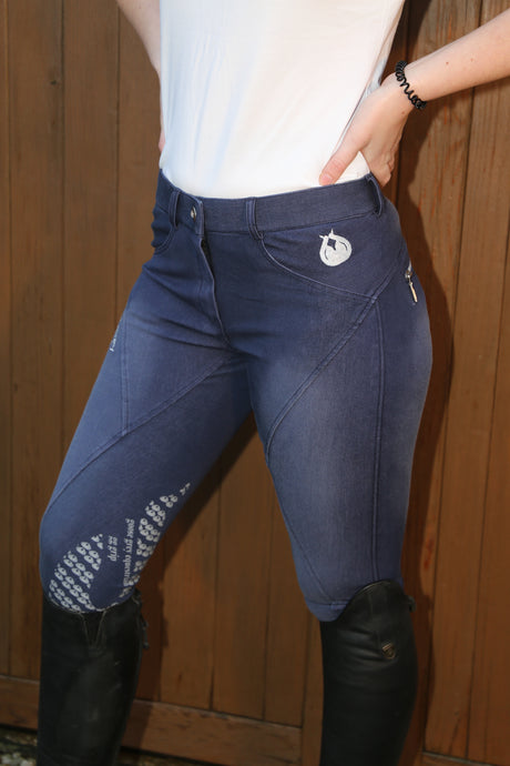 Denim Breeches