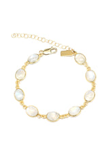 Bridgette Bracelet Moonstone Brooke Landon Jewelry