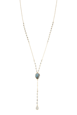 Caitlyn Necklace | Labradorite