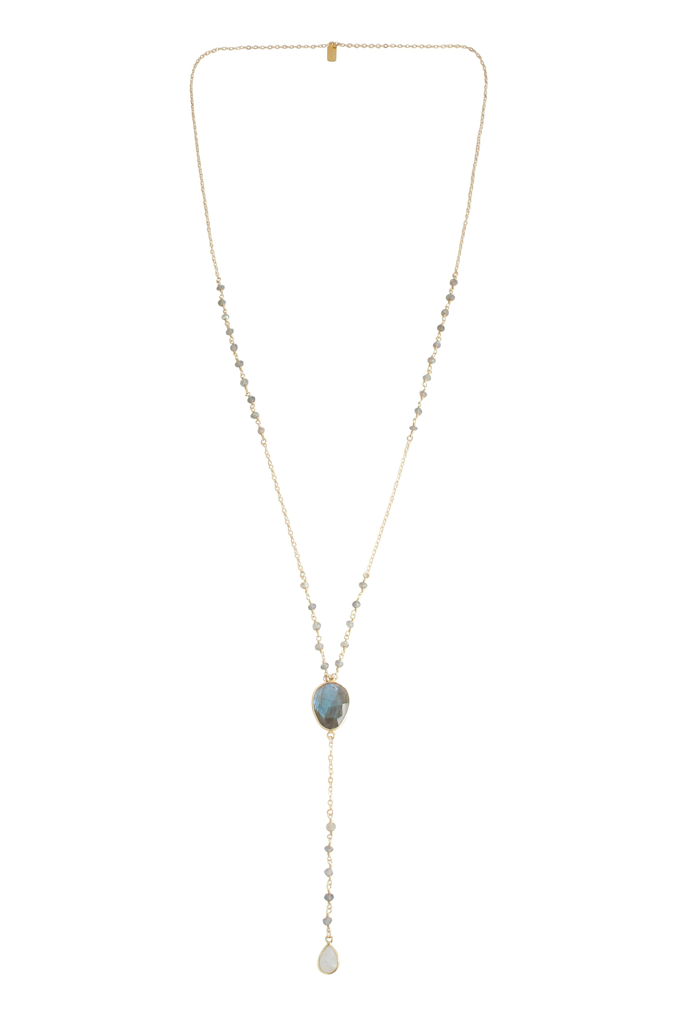 Juliette Necklace - Labradorite & Moonstone